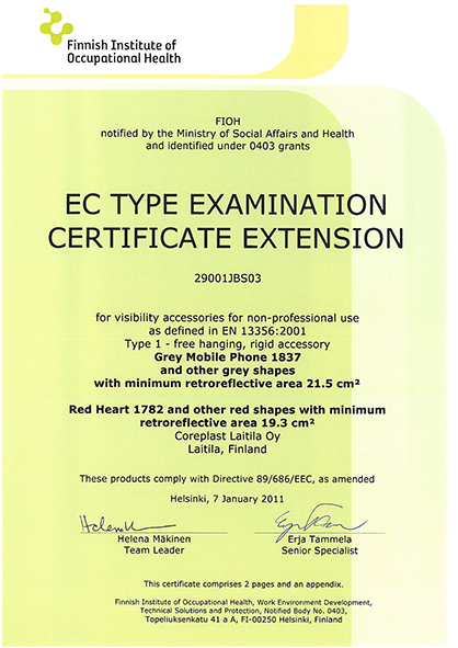 EC Certificate 2 Scanglo