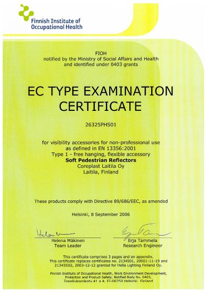 EC Certificate 3 Scanglo